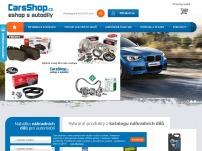 CarsShop.cz - eshop s autodíly