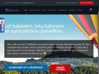 Chadbalon - vyhlídkové lety balonem