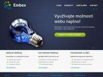 Embex, s.r.o. - webové služby