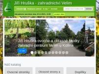 Jiří Hruška – zahradnictví Velim