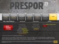 PRESPOR spol. s r.o.