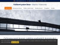 Výškové práce Brno – Martin Vítámvás
