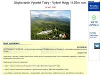 Ubytovanie Vysoké Tatry