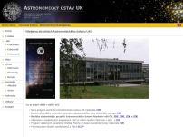 Astronomický ústav Matematicko-fyzikální fakulty