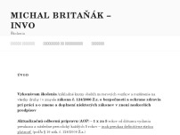 Michal Britaňák - INVO