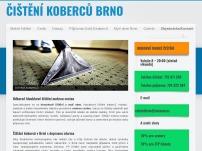 Čistění koberců Brno