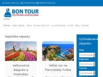 Cestovná kancelária BON TOUR s.r.o.