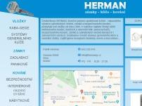 HERMAN – zámky – klíče – kování