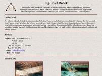 Posuzování stavu dřevěných konstrukcí  – Ing. Josef Rubek