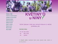 Květiny u Niny