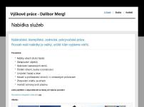 Výškové práce – Dalibor Mergl