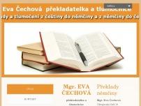 Mgr. Eva Čechová – Němčina Brno
