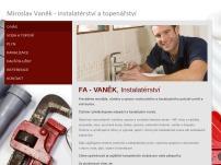 Miroslav Vaněk – instalatérství a topenářství