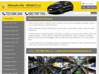 Náhradní díly – vrakoviště Renault