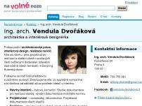 Ing. arch. Vendula Dvořáková