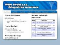 MUDr. Jiří Dobeš - Ortopedická ambulance