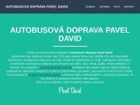 Autobusová doprava PAVEL DAVID