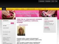 Manikúra pedikúra Lenka