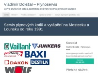 Plynoservis Most Doležal