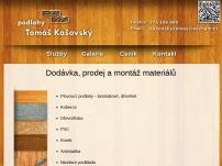Podlahy Tomáš Kašovský