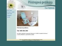 Eva Chytrová - přístrojová pedikúra