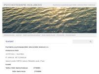 Psychiatrie a psychoterapie MUDr. Holub & MUDr. Holubová s.r.o.