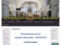 Rímskokatolícky kostol Narodenia Panny Márie, Radošovce