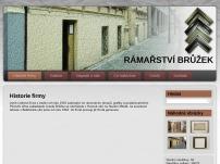 Vlastní výroba slohových rámů a pozlačovačství – Viktor Brůžek