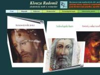 Ak. mal. Radomil Klouza – Remark ateliér