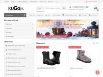 Брендовый интернет магазин - Ruggis.ru обувь угги