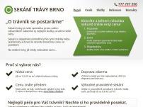 Sekání trávy Brno