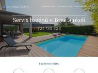 Servis bazénů Brno