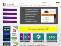 Tvorba webových stránek – Simonet.cz