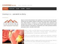 COVERING s.r.o. – specialisté na střechy