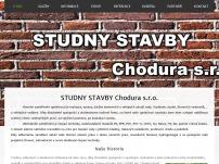 STUDNY STAVBY Chodura s.r.o.