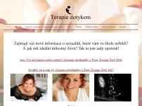 Jana Mašková Zimolová – Terapie dotykem