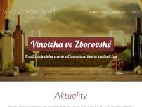 Vinotéka ve Zborovské