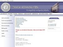Evangelická teologická fakulta