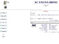 Klub malé kopané AC FAUNA Brno