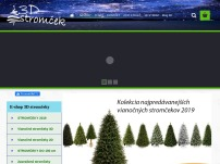 3D stromček
