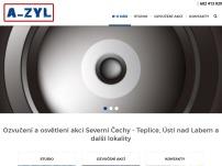 A-ZYL – nahrávací studio, ozvučení společenských akcí