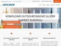 Accace - finančný outsourcing a poradenstvo