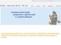 JUDr. Marek Kříž Ph.D., advokát