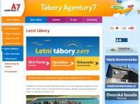 Letní tábory Agentury7