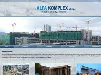 ALFA KOMPLEX a.s.