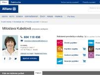 Allianz pojišťovna, a.s.  Pojišťovací kancelář  - Miloslava Kubešová