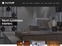 Alnus, luxusní kuchyně a nábytek na míru