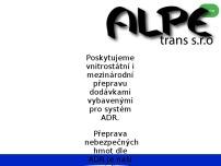 ALPE trans s.r.o.