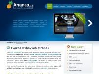 Ananas.cz | tvorba webových stránek Praha