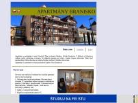 Apartmány Branisko